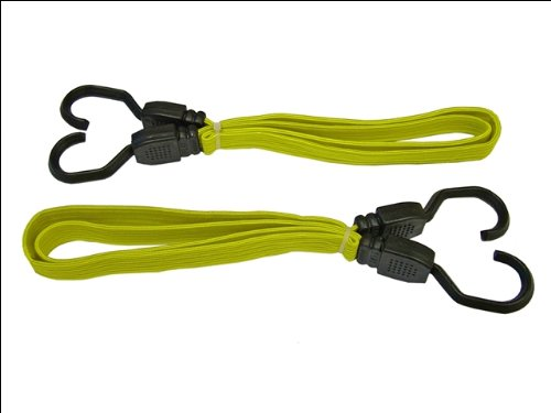 Faithfull TDBUNG36 Flat Bungee Cord Yellow
