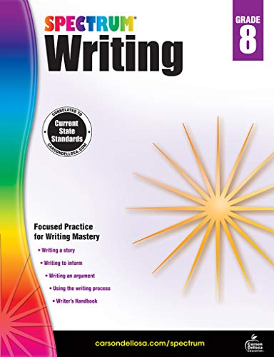 Spectrum | Writing Workbook | 8th Grade, 144pgs