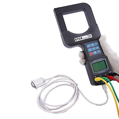 Shengjuanfeng 0.5W-720KW Large Caliber 3 Phase Power Meter Analyzer with Digital ac Ammeter Voltmeter ETCR7300