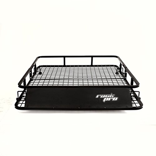 Goplus Universal Roof Rack Basket Car Top Luggage Carrier Cargo Holder Travel 48