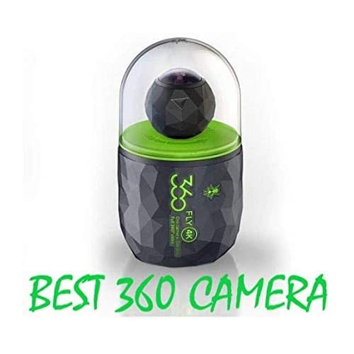 Image of 360fly 4K 360 Panoramic Video Camera with WiFi and Bluetooth FLYC4KC01BEN Sports & Action Video Cameras