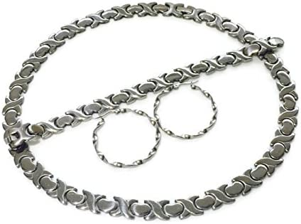 Stainless Stampato Necklace Earring Bracelet product image