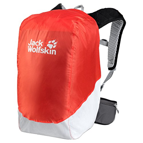 Jack Wolfskin Safety 14-20L Rucksack Rain cover, Lava Orange by Jack Wolfskin