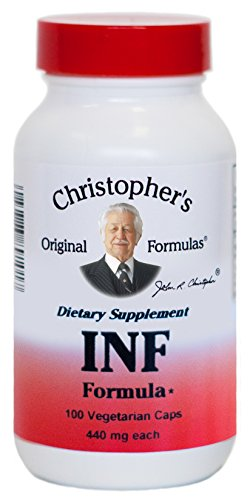 Christopher s Original Formulas Infection Formula 440 mg 100 Veggie Caps