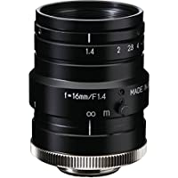 Kowa LM16HC 1 16mm F1.4 Manual Iris C-Mount Lens, 2 Megapixel Rated