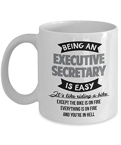 Best Funny Executive Secretary Bikers Coffee & Tea Gift Mug - Executive Coffee Mug