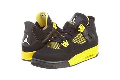ce89557ba9b400 ... black tour yellow online sale 12473 28916  germany nike air jordan 4  retro gs thunder 408452 008 ed327 8add5