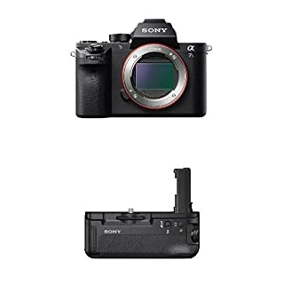 Sony ILCE7SM2/B Full-Frame Mirrorless Interchangeable Lens Camera With Battery Grip Bundle