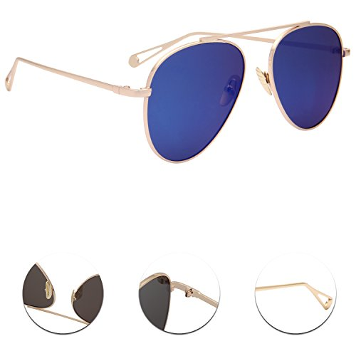 Gafas para LianSan Azul hombre sol de vqv8Pxwd4