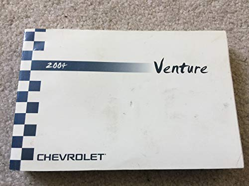 2004 Chevy Chevrolet Venture Owners Manual