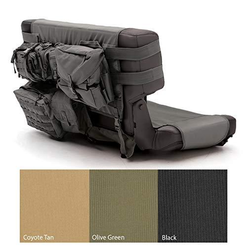 (Smittybilt 5660201 GEAR Black Rear Seat Cover)