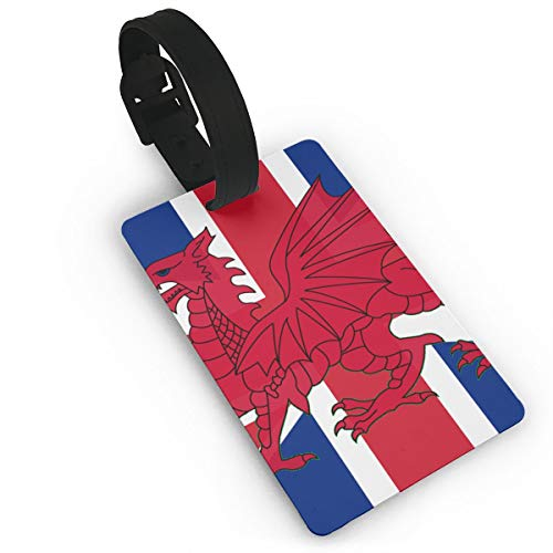 Sheery British Flag Luggage Tags Business Card Holder Travel ID Bag Tag