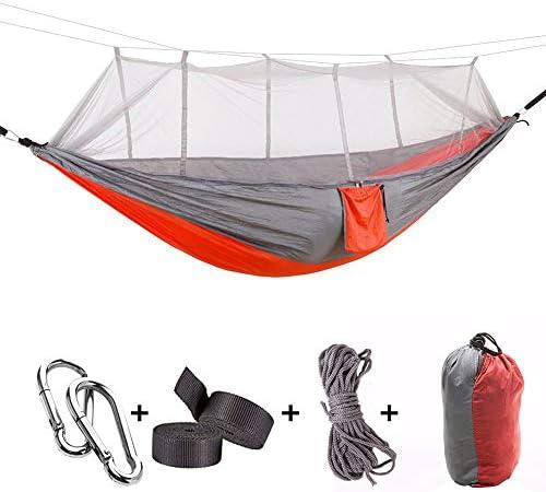 Yeeco Double Camping Hammock, Portable Lightweight Nylon Parachute Hammock