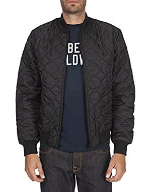 Men's Lavenham Bomber Jacket SJ5201-102 Black SZ 36
