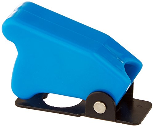 Keep It Clean 11009 Toggle Switch Race Toggle Switch Safety Cover - Blue