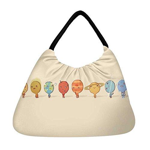 Multicolor Playa De Snoogg Bolsa Mujer qgwROz6