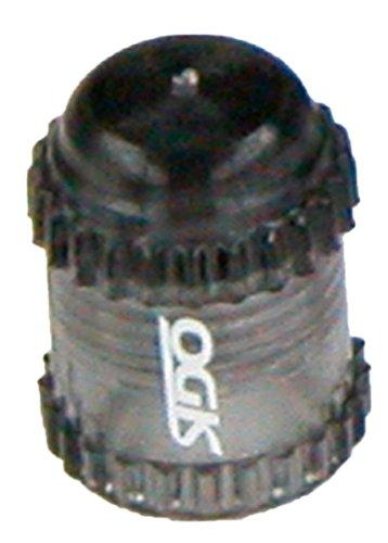OGK バルブキャップ 米式バルブ用 スモーク