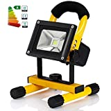 30W IP65 Portable Cordless Rechargeable LED Flood Spot Work Light Lamps for Outdoor Camping, Working, Fishing. Waterproof, Security Lights