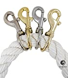 "Ravenox Snap Hooks Heavy Duty |(Stainless Steel)(1"" x 2-Pack) 