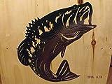 Beautiful Metal Wall Art Bass