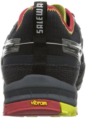 SALEWA MS FIRETAIL EVO - Zapatillas de senderismo Hombre Negro (0924 Negro/Citro)