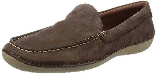 Cole Haan Men's Motogrand Venetian Loafer, Black, 10 US Java Nubuck