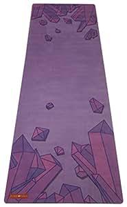 Peace Yoga Microfiber Top Hot Yoga Mat Crystal