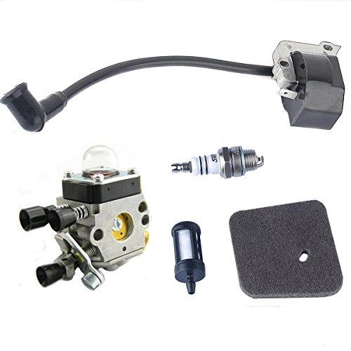 Savior Ignition Coil + Air Filter + Fuel Filter + Spark P...