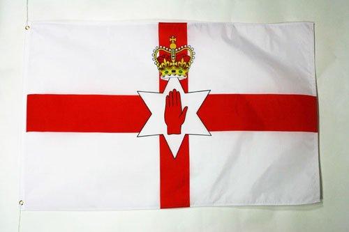 AZ FLAG Northern Ireland Flag 3' x 5' - Irish Flags 90 x 150 cm - Banner 3x5 ft