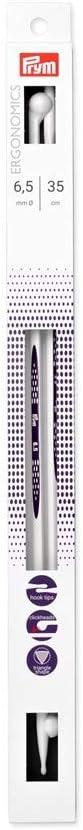 alabasterwei/ß Kunststoff Prym Jackenstricknadeln Ergonomics 35 cm 3,00 mm Jackenstricknadel 3 mm