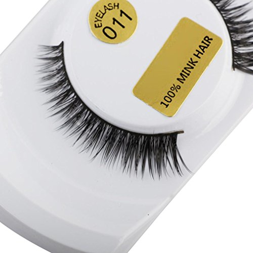 Pulison(TM) 3D Fake Eyelashes Mink Eye Lashes Lashes Natural Thick False Makeup Extensions