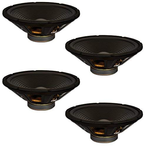 Goldwood Sound Inc. Stage Subwoofer OEM 15 Woofers 250 Watts Each 8ohm Replacement 4 Speaker Set (GW-215/8-4) [並行輸入品]   B07MB45XVX