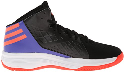 Adidas Prestaties Heren Speedbreak Basketbalschoen Kern Zwart / Infrarood / Power Paars F