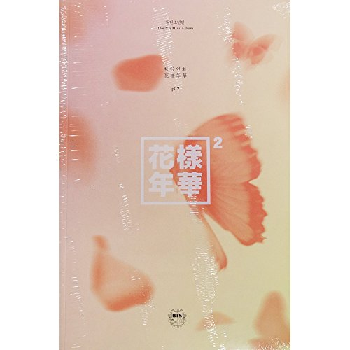 BTS BANGTAN BOYS KPOP 4th Mini Album In The Mood For Love PT.2 [Peach Ver.] CD + Photobook + Photocard + Gift (4 Photocards (Beautiful Album)