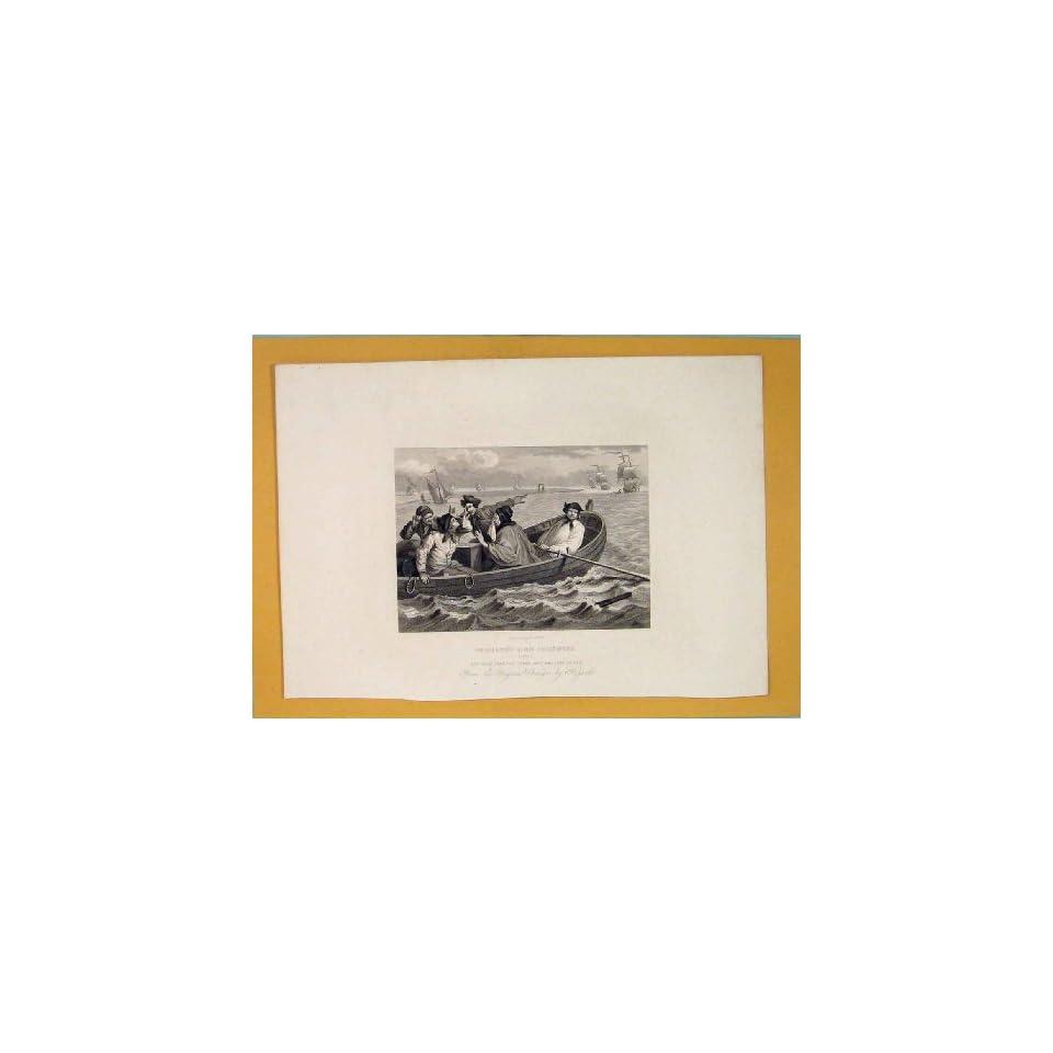Industry Industrial Prentice Sea Boat Hogarth Art C1835