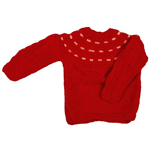 Maple Krafts 100 Wool Hand Knitted Sweater Baby Boys Girls Full