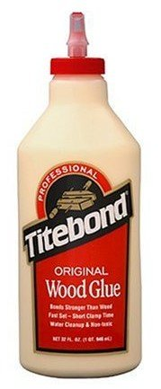 6 Pack Franklin 5065 Titebond Original Wood Glue - Quart Bottle by Titebond (Image #1)