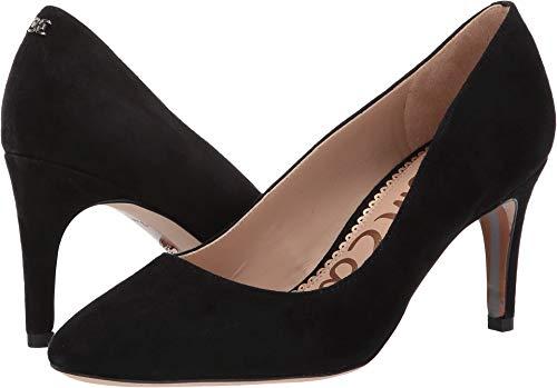 - Sam Edelman Women's Elise Black Kid Suede Leather 6.5 W US