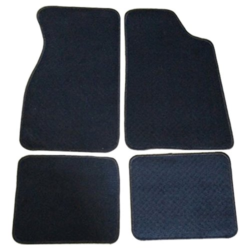 - Floor Mats Fits 1979-1993 FORD MUSTANG | Nylon Black Front Rear Carpet by IKON MOTORSPORTS | 1980 1981 1982 1983 1984 1985 1986 1987 1988 1989 1990 1991 1992