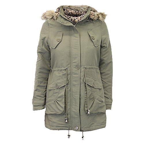 giacca donna con cappuccio pelo