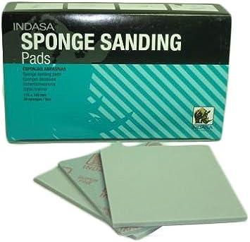 esponjas de lijado 115 mm x 140 mm x 5 mm//20 uds. Esponjas Indasa