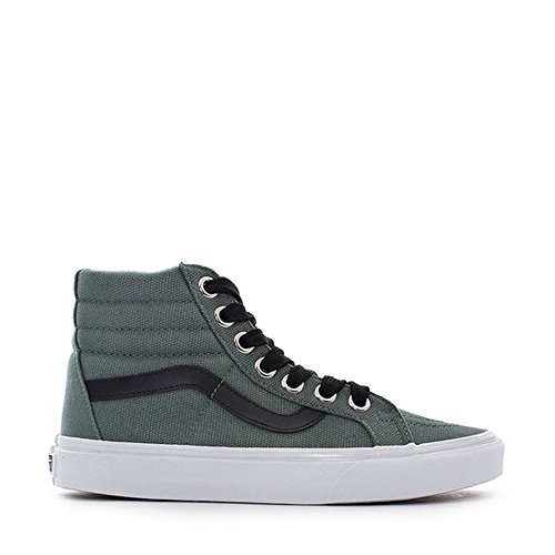 Vans SK8-Hi Reissue (Oversized Lace) Fashion Sneakers Silver Pine/True White Size 8.5 Men/10 Women