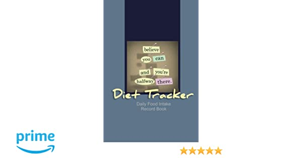 diet tracker daily food intake record book jean legrand