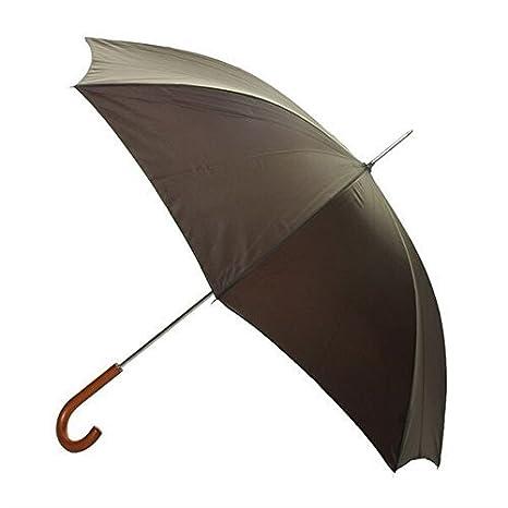 Para hombre Mora Hunter bastón paraguas con mango de madera