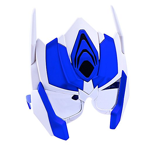 Sun-Staches Costume Sunglasses Transformers Optimus Prime Tall Party Favors UV400]()