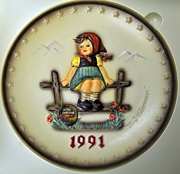 Mi Hummel Collector Plate - M. I. Hummel ** Just Resting Annual Plate (1991) 7.50