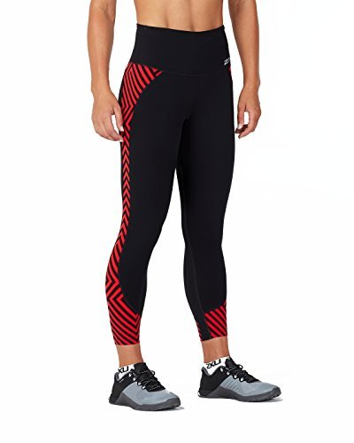 Comp 8 Leggings Black Tight 7 Donna 2xu Fitness rise Hi zXnSwxR