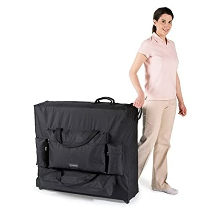 Master Massage Luggage Style Wheeled Massage Table Carrying Case, 29 Inch MHP #78791
