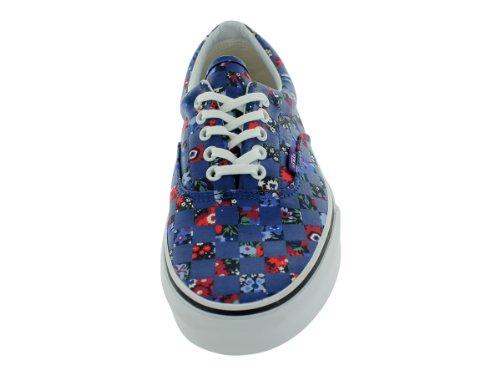 Vans Era Liberty Floral Checker Blau