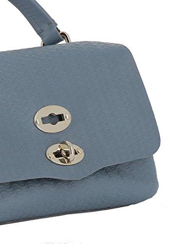 Zanellato Bleu pour Sac à Taille Unique Femme Main Bleu rxCrqf8PRw